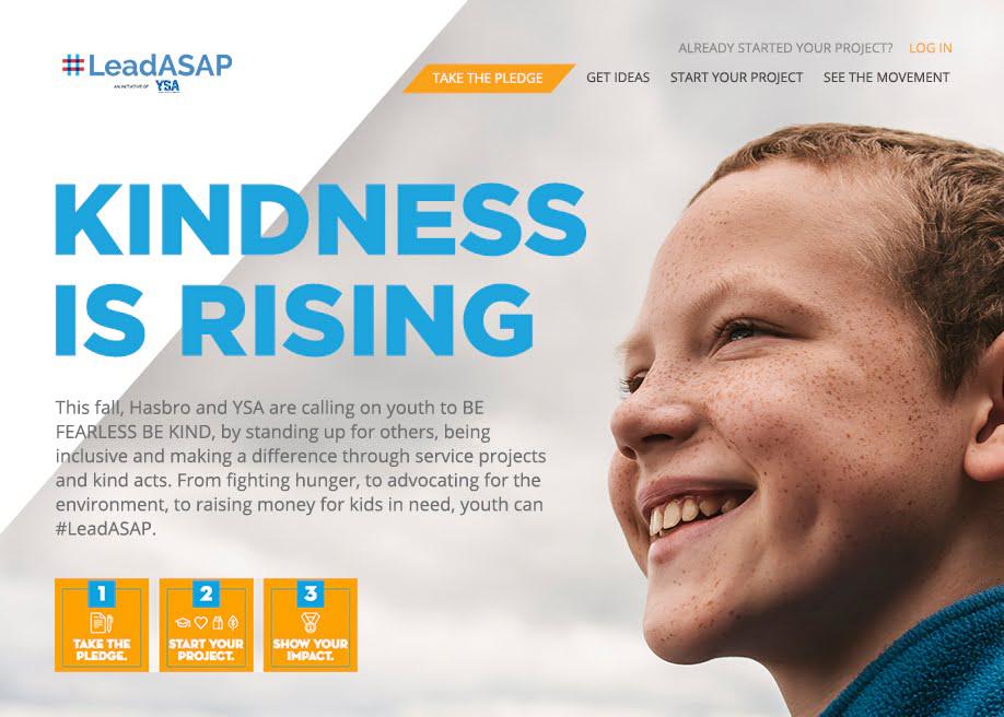 UX design for LeadASAP YSA