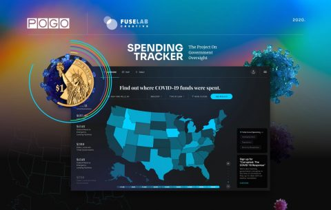 POGO COVID-19 Government Spending Tracker – Interactive Interface That Makes a Difference